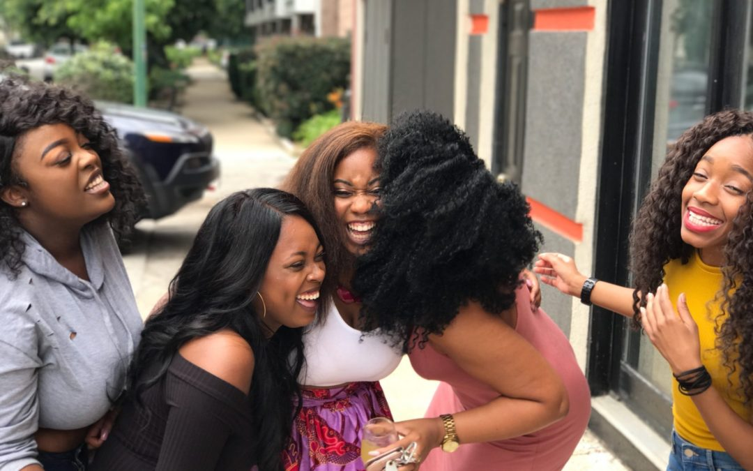 We can laugh together! – by LaToya Byfield