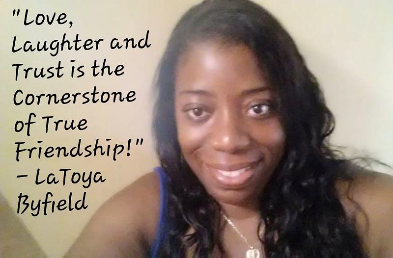 LaToya Byfield, AboutYourFriends Founder